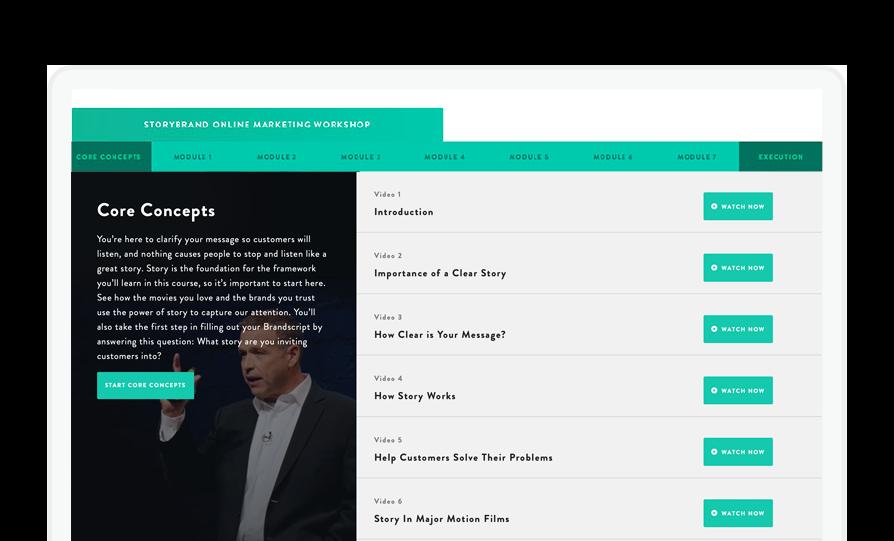 Online Marketing Workshop – StoryBrand